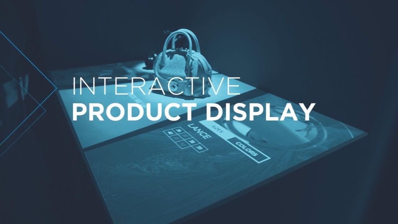 数字化实体店丨产品互动体验